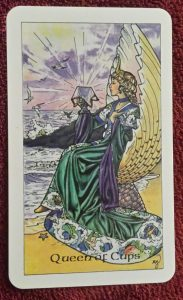 photo of Queen of Cups from Robin Wood tarot