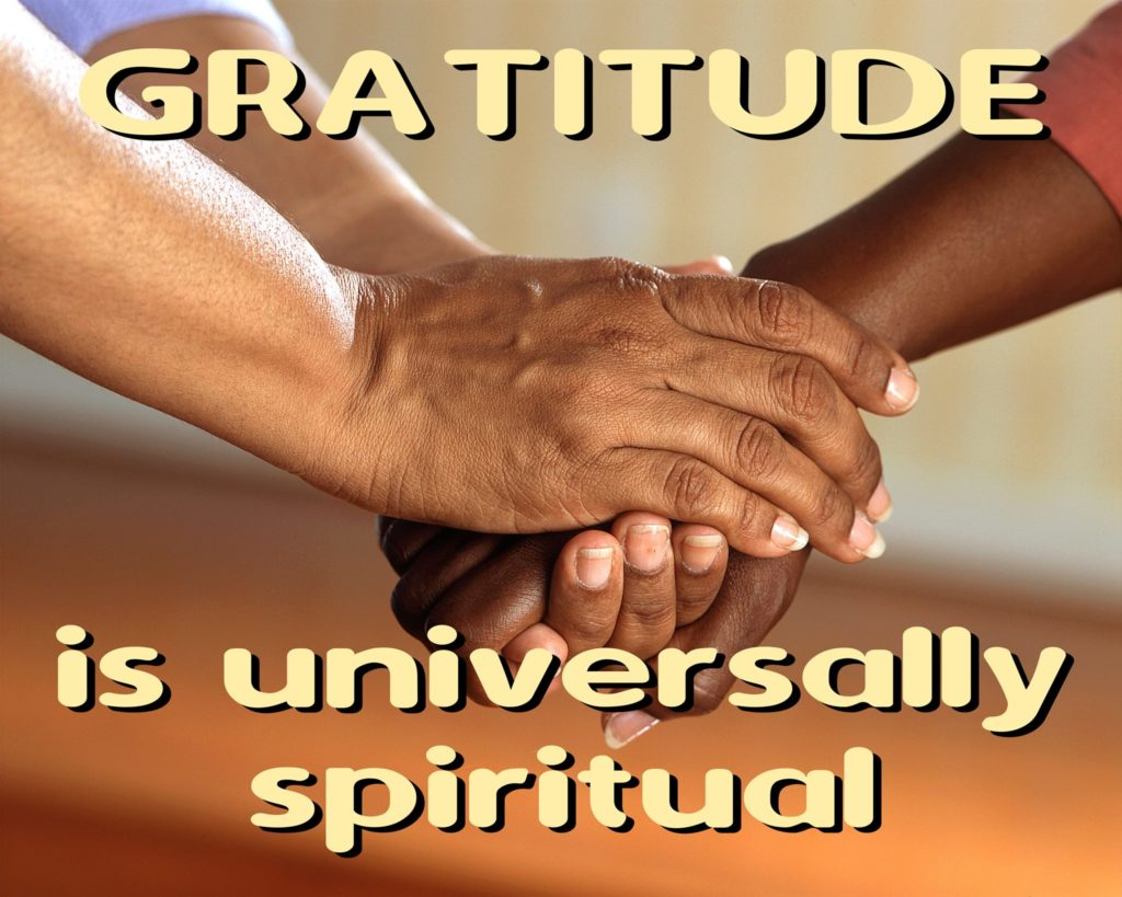 Gratitude is essential