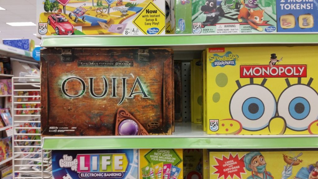 Ouija believe?