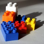Photo of Lego-style blocks